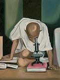Gandhi - Shibu  Natesan - Autumn Auction 2008
