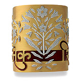 A CONTEMPORARY GOLD CUFF BRACELET WITH DIAMONDS AND ENAMEL - Shaill  Jhaveri Couture - Auction of Fine Jewels