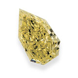 AN UNMOUNTED FANCY COLOURED DIAMOND -    - Auction of Fine Jewels