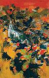 Untitled - S H Raza - Summer Auction 2008