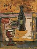 Still Life - F N Souza - Summer Auction 2008