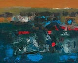 Terra-Incognita - K M Adimoolam - Winter Auction 2008