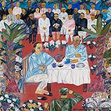 Couple Having Tea - Arpita  Singh - Winter Auction 2008