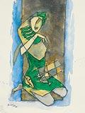 Untitled - M F Husain - Winter Auction 2008