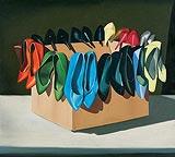 Flower (Still Life) - Shibu  Natesan - Winter Auction 2008