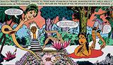 Dazzle Slide - Chitra  Ganesh - Autumn Auction 2009