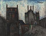 Old City Landscape - F N Souza - Autumn Auction 2009