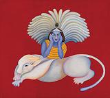 Untitled - Manjit  Bawa - Autumn Auction 2009