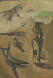 Untitled - Ram  Kumar - Autumn Auction 2009
