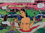 Untitled (Charmed Tongue) - Chitra  Ganesh - Summer Auction 2009