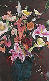 Bleeding Hearts - Hema  Upadhyay - Summer Auction 2009