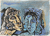 Untitled - M F Husain - Summer Auction 2009
