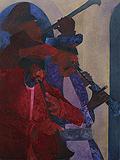 Melody at Midnight - Krishen  Khanna - Summer Auction 2009