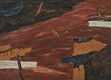 Untitled - Ram  Kumar - Summer Auction 2009