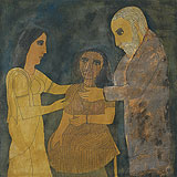 The Enigma of the Veiled Woman - Badri  Narayan - Winter Auction 2009