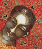 Golden Curtain - Bhupen  Khakhar - Winter Auction 2009