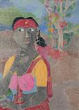 Untitled - K Laxma  Goud - Winter Auction 2009