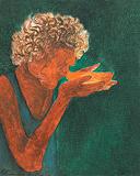 Study for Emmaus - Krishen  Khanna - Winter Auction 2009