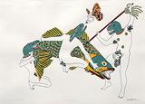 Untitled - Raqib  Shaw - Winter Auction 2009