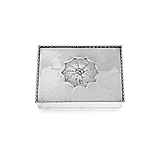 AN EARLY SILVER BOX, BY GEORG JENSEN -    - Spring Auction of Fine Jewels