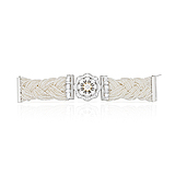 A PEARL AND DIAMOND BRACELET -    - Spring Auction of Fine Jewels