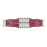 A RUBY AND DIAMOND BRACELET, BY BIREN VAIDYA -    - Spring Auction of Fine Jewels
