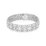 A DIAMOND BRACELET -    - Spring Auction of Fine Jewels