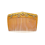 AN ART-NOUVEAU RUBY AND GOLD COMB -    - Spring Auction of Fine Jewels