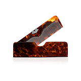 AN ANTIQUE TORTOISE SHELL AND DIAMOND COMB -    - Spring Auction of Fine Jewels