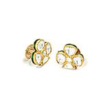 A PAIR OF `POLKI` DIAMOND CUFFLINKS -    - Spring Auction of Fine Jewels