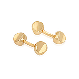 A PAIR OF GOLD CUFFLINKS, BY VAN CLEEF & ARPELS -    - Spring Auction of Fine Jewels