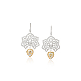 A PAIR OF DIAMOND EAR PENDANTS, BY SHAILL JHAVERI COUTURE -    - Spring Auction of Fine Jewels