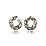 A PAIR OF DIAMOND EAR PENDANTS -    - Spring Auction of Fine Jewels