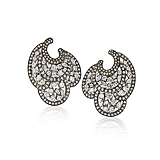 A PAIR OF DIAMOND EAR PENDANTS, BY BIREN VAIDYA -    - Spring Auction of Fine Jewels
