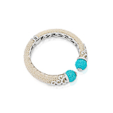 A SEED PEARL AND TURQUOISE `KADA` BANGLE, BY SMRITI BOHRA -    - Spring Auction of Fine Jewels