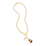 A PEARL, DIAMOND AND RUBY NECKLACE -    - Spring Auction of Fine Jewels