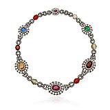 A MULTIGEM `NAVA-RATNA` NECKLACE -    - Spring Auction of Fine Jewels