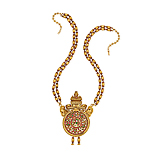 A TRADITIONAL GOLD AND RUBY NECKLACE -    - Spring Auction of Fine Jewels