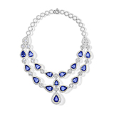 A MAGNIFICENT TANZANITE AND DIAMOND NECKLACE -    - Spring Auction of Fine Jewels
