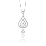 A DIAMOND PENDANT -    - Spring Auction of Fine Jewels
