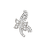 A DIAMOND BROOCH, BY CARTIER -    - Spring Auction of Fine Jewels