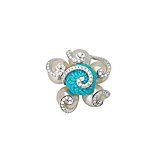 A TURQUOISE AND PEARL RING, BY SMRITI BOHRA -    - Spring Auction of Fine Jewels