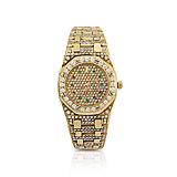 AUDEMARS PIGUET: A ROYAL OAK LADIES WRISTWATCH -    - Spring Auction of Fine Jewels