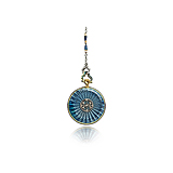 AN ANTIQUE ENAMEL AND DIAMOND POCKET WATCH -    - Spring Auction of Fine Jewels