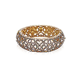 A DIAMOND BANGLE -    - Auction of Fine Jewels & Watches