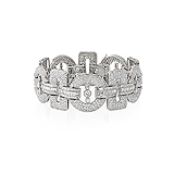 A DIAMOND BRACELET -    - Auction of Fine Jewels & Watches