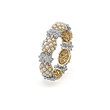 A PEARL AND DIAMOND BANGLE -    - Auction of Fine Jewels & Watches