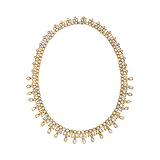 A DIAMOND NECKLACE -    - Auction of Fine Jewels & Watches