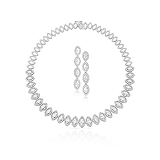AN IMPORTANT SUITE OF DIAMOND JEWELRY -    - Auction of Fine Jewels & Watches