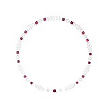 A WELL MATCHED COLLECTION OF RUBIES AND DIAMONDS -    - Auction of Fine Jewels & Watches